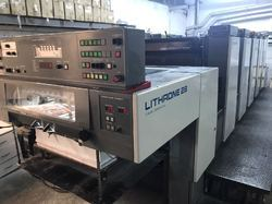 1998 Komori Lithrone L528 Offset Printing Machine