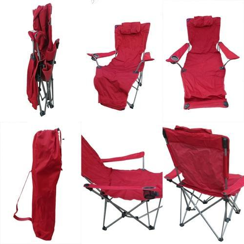 Incredible Folding Lounge Chair Red Pabps2019 Chair Design Images Pabps2019Com