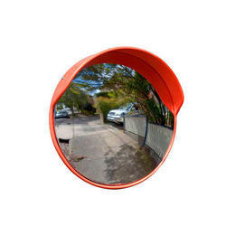 Unbreakable Convex Safety Mirror