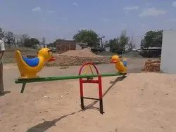Duck 2 Seater See Saw