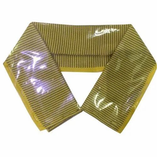 Polyester Striped Shirt RIB Collar, Packaging Type: Packet