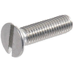Countersunk Head Slotted Screw