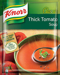 Knorr Classic Thick Tomato Soup, Packaging Type: Packet