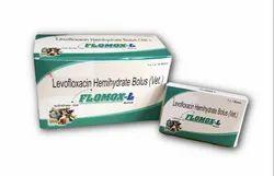 Flomox-L Levofloxacin Hemihydrate Bolus (Vet)