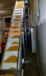 Cleated Modular Belt Conveyor
