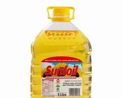 Refined Edible Sunflower Oil 1l, 2l, 3l, 5l To 25l