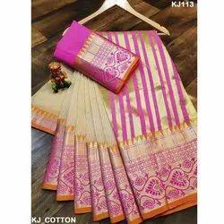 Women Designer Cotton Saree