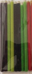Multi Color Velvet Pencil