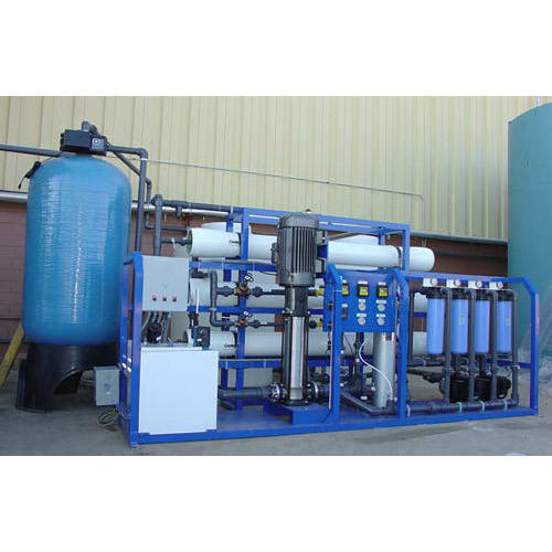 SS   Powder coating Reverse Osmosis System, Automation Grade: Semi-Automatic, Industrial RO Plant