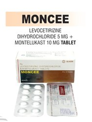 MONCEE Levocetrizine and Montelukast Tablet, For Hospital, Dose: As Prescribed By Physician
