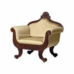 Traditional Wooden Sofa Chair