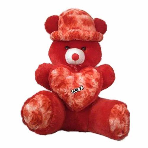 e0b752bbc5f Red Stuffed Teddy Bear at Rs 500  piece
