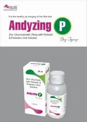 Zinc Gluconate 20mg  L.Acidophilus, B.Longum, B.Bifidum, B.Infantis 417mg Contains over 2.5 billio