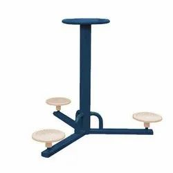 Outdoor Triple Standing Twister Gym Equipment