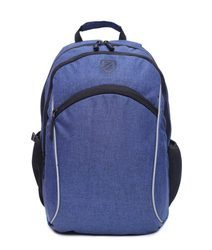 Blue And Black Laptop Backpack