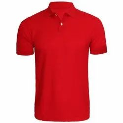 Mens Plain Polo T-Shirt