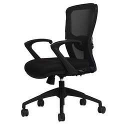 Fixed Arm Office Chair