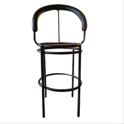 Black Ms (frame) Designer Iron Chair