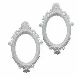 6797 White Mirror Frame