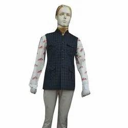 Woollen Mens Sleeveless Hunting Jacket, S-xl