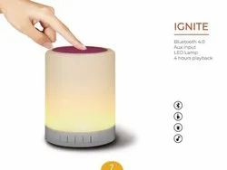 Bluetooth Speaker With LED Lamp