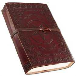 Celtic Leather Journal, Handmade Leather Diaries, Vintage Journal