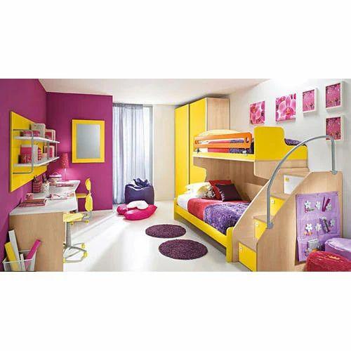Interior Designing Services: Kids Room Interior Designing Services In Wadgaon Sheri