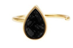 Onyx Handmade Cuff Ring Hot Style For Loving Womens Dazzling Collection Fine Ring
