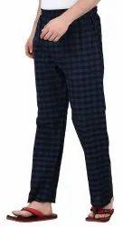 Mens Woven Night Wear Pyjamas, Size: S - 2XL