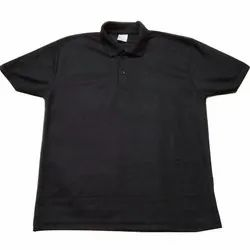 Men's Polo Neck Plain T Shirt