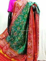 Pure Silk Singe Ikkat Patola Dupatta