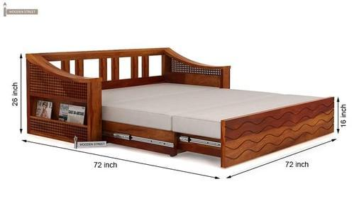 Wooden Sofa Bed At Rs 18000 Number Modern