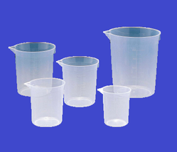 Measuring Beaker PP, Autoclavable, 1000 ml., Pack of 6 Pcs.