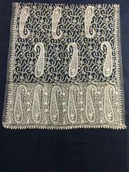 Wool Kashmiri Ari Embroidery Shawls