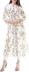 Woman Stitched Printed Kurti