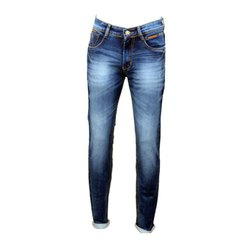 Button Men Party Wear Denim Jeans