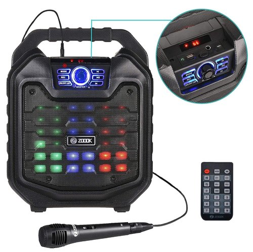 Zoook Rocker Thunder 2 30 Watts Karaoke Bluetooth Speaker With Remote Wired Mic At Rs 2915 Unit S Box Bluetooth Speaker À¤¬ À¤² À¤Ÿ À¤¥ À¤¸ À¤ª À¤•à¤° Kewal Sales Corporation Mumbai Id 20922508355