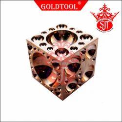 Gold Tool Gun Metal Doming Block