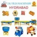 Concrete Cement Tiles Machine