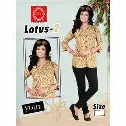 Zoya Rayon Women Casual Shirt, Size: M