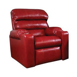 One Seater Leather Recliner Sofa