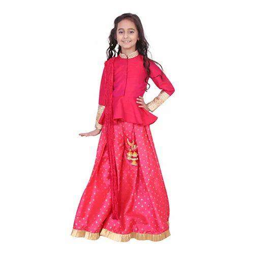 8c16e79c Fuchsia CHIQUITITA Kids Designer Sharara Set, Rs 3500 /unit | ID ...