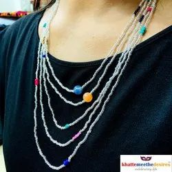 Multicolor 5 Layers Beads Mala, Party, Jewellery Type: Artifiial