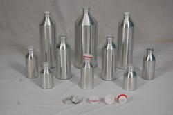 Threaded Conical Aluminium Bottle
