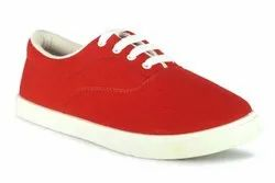 C 1  RED Casual Shoes