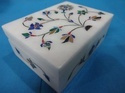 Designer Marble Stone Inlay Box
