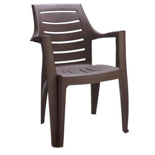 High Back Brown Plastic Chairs