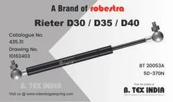 GAS SPRING FOR RIETER
