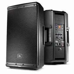 Black JBL Monitor Speaker