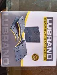 LUBRANO Heavy Vehicle Brake Lining, Packaging Type: Box